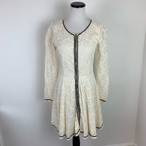 NWT ASOS Cream Lace Dress by Stitch and Pieces